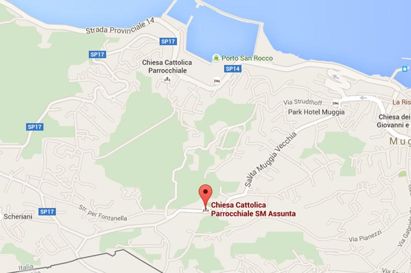 Mappa chiesa